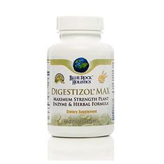 Digestizol Max 90 Vcaps Blue Rock Holistics *** Want to know more, click on the image-affiliate link. #PlantEnzyme