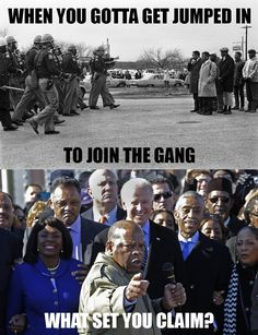 John Lewis jumped into the gang - What set you claim?