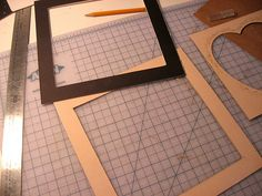 How to make your own photo mats - The Shabby Creek Cottage