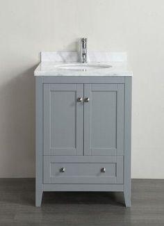 Fresh 24 Black Bathroom Vanity Cabinet