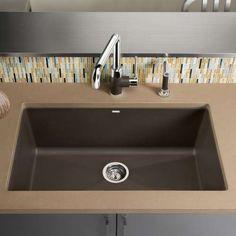 Precis Super Single Bowl Kitchen Sink