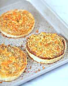 Onion gratin slices from Apron Strings; what a delicious-sounding side dish.