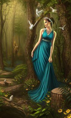 Persephone by ~cgaddictworld on deviantART