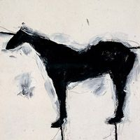 Untitled horse by Susan Rothenberg - Wikipedia, the free encyclopedia