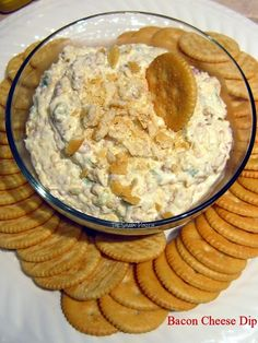 Bacon Cheese Dip...an easy appetizer or snack
