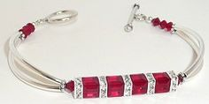 www.BestBuyBeads.com - Squaredelle Bangle Bracelet. It's also available as a kit!