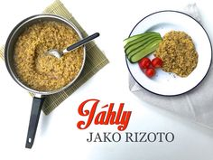 Jahelné rizoto z hub Rice, Beef, Healthy Recipes, Food, Meat, Essen, Healthy Eating Recipes, Meals, Healthy Food Recipes