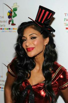 Leg Avenue satin top hat as seen on Nicole Scherzinger 58ff833cb572