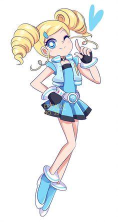 Anime Girl Drawings, Disney Drawings, Anime Art Girl, Kids Cartoon Characters, Cartoon Kids, Powerpuff Girls Cartoon, Super Heroine, Oc Manga, Anime Sisters