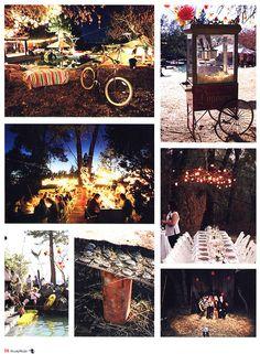 night country rustic wedding!
