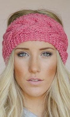 knit headband                                                                                                                                                     Mais