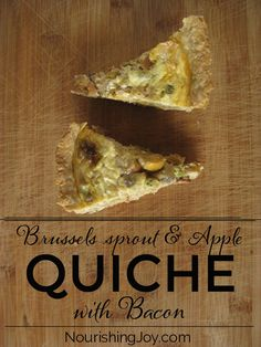 This quiche is filled with surprising ingredients - but is surprisingly scrumptious! Eat it for breakfast, lunch, dinner, or take it on a picnic.