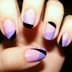 Purple & black passion