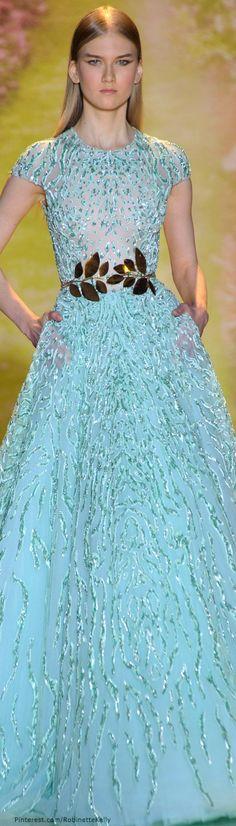 Spring 2014 Couture Zuhair Murad lavender | Prom Dress | Pinterest ...