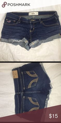 hollister shorts only worn once great condition, price firm! Hollister Shorts Jean Shorts