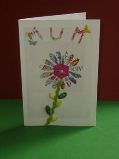 for my Mum ...