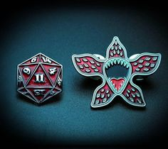 Repost @scottneilsonconcepts #strangerpins are here in my etsy shop! http://ift.tt/2sk7VvQ #demogorgonpin #demogorgon #strangerthingsseason2 #strangerthings #enamelpin #patchgame #merchgame #enamelpin #pin #d20 #dice #dungeonsanddragons (Posted by https://bbllowwnn.com/) Tap the photo for purchase info. Follow @bbllowwnn on Instagram for the best pins & patches!
