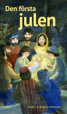 Den första julen är en nu närmast klassisk adventsberättelse som bygger på Bibelns berättelser, skriven av Birgitta och Anders Johansson och boken är utgiven på Libris förlag.