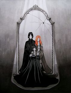 Severus Snape and the mirror of Erised...heart just broke... Right there