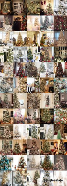 60 Gorgeously Decorated Christmas Trees From #DeckingForTheHolidays