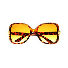 New in this season collection oversized sunglasses featuring square shaped large frame with stylish metal insertions Sunglasses dimensions: Frame Height: Width: Oversized Sunglasses, Tortoise, Womens Fashion, Retro Vintage, Vintage Fashion, Shades, Brown, Style, Gold
