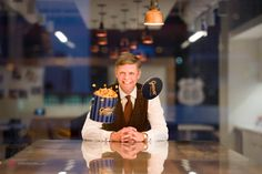 Chicago's very own Garrett Popcorn Shops' Executive Vice President & Chief Brand Officer, Scott Schroeder. More story, click.
