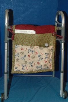 Walker bags quilted  multiple pockets for easy by DreamersStudio, $26.99