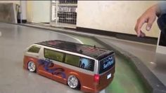 Drifting RC Van With Hiace Speaker System Rc Drift Cars, Rc Remote, Speaker System, Jdm, Badass, Content, Vehicles, Model, Blog