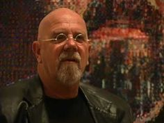 Chuck Close: Why Portraits? He's just so happy! Chuck Close Art, Chuck Close Portraits, Art Videos For Kids, 8th Grade Art, Friends Youtube, Artist Biography, School Art Projects, Arts Ed, Art And Technology
