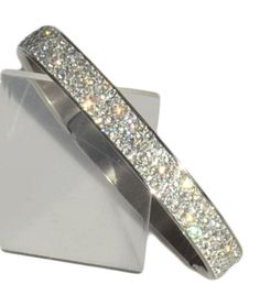 Hinged Bangle: with 4 Rows of Beautiful Sparkly Crystals - Clear - 10mm in width Sophistikitty http://smile.amazon.com/dp/B00A6GVV6K/ref=cm_sw_r_pi_dp_JB1kub0B563H4