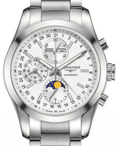 L2.798.4.72.6 Longines Conquest Classic Moonphase