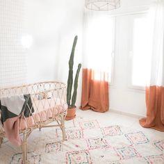 A Beautiful Nursery with Boho Chic Charm
