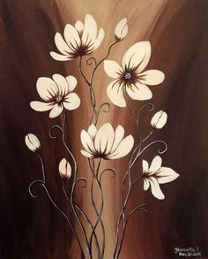 Paint Nite Pittsburgh | Chocolate Floral - The Pier 01/06/2016