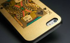 Iphone 5/5s poker cover: KING