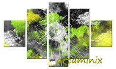 Laggiù #art paint#paint handmade#handmade #moon #green yellow#yellow art#home #design