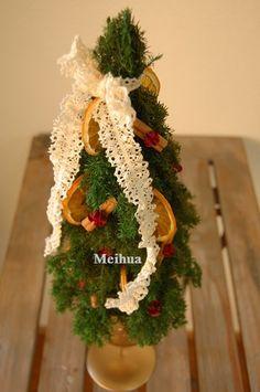 ナチュラルナクリスマスツリー。