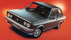 fiat 131 coupe late 1970's