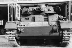 The superstructure of this Panzer IV Ausf. D has been up-armored with spaced amour.