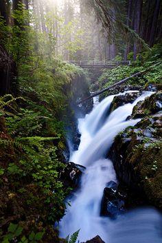 Long exposure waterfalls are always effective