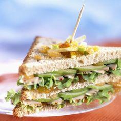 Sandwich take away vegano - Receta saludable
