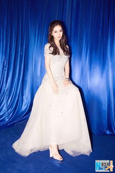 ket hon co con xong, angelababy van xinh nhu mot co cong chua - 4 Stylish Girl, Stylish Outfits, Frocks And Gowns, Angelababy, Chinese Actress, Chinese Style, Asian Style, Bride Hairstyles, Beautiful Celebrities