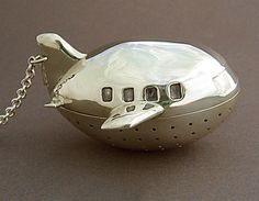 custom made airplane tea infuser