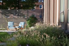Meadow-style plantings intrude into paved areas Matthew Cunningham Landscape Design LLC Longwood garden