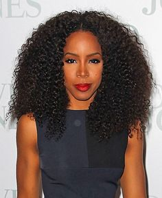 We can't get enough of Kelly Rowland's decadent kinky-curly ringlets! | essence.com
