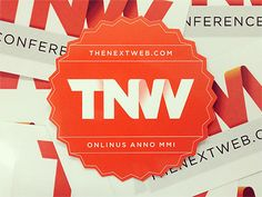 Dribbble - The Next Web Conference 2012 by Frank Slangen