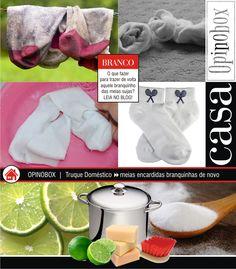 Opinobox: Truque para Limpar Meias Encardidas