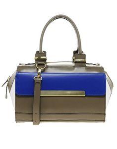 ASOS Leather Bar Detail Bag