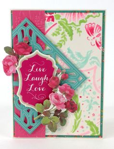 "© Anna Griffin Inc. Joyful Expressions Embossing Folders- featuring beautiful braid, medallion, floral and scallop designs that add a ""wow"" moment to any paper project. Available on hsn.com for $24.95."