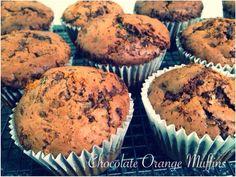 Chocolate Orange Muffins Bellini Recipe, Orange Muffins, Chocolate Orange, Cooking Recipes, Baking, Breakfast, Food, Cooking, Xmas