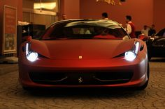 Matte Red 458via Fxxprotype